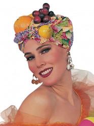 Turbante Carmen Miranda Carnaval Adulto