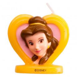 Vela 3D Bela Princesas