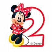 Vela aniversário Minnie Nº 2