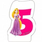 Vela aniversário Princesas Disney Nº 5