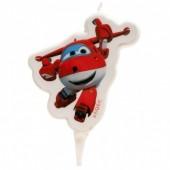 Vela Aniversário Super Wings Jett
