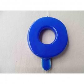 Vela nº 0 Azul 9,5cm