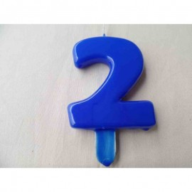 Vela nº 2 Azul 9,5cm