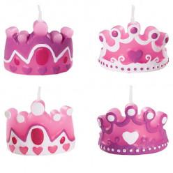 Velas Princesa Wilton 4 unid
