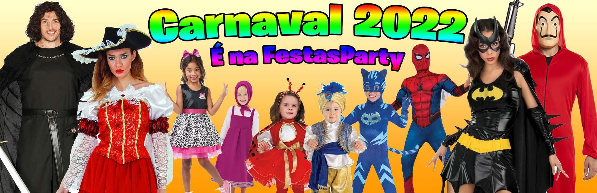 Fatos e Artigos de Carnaval para Bebés, Crianças e Adultos